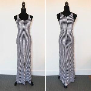 Merona Striped Maxi Dress